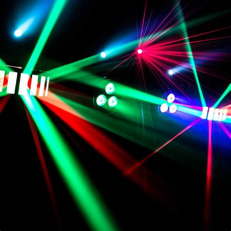 complete dj system with lights chauvet dj gigbar 2 4 in 1 complete effect light system