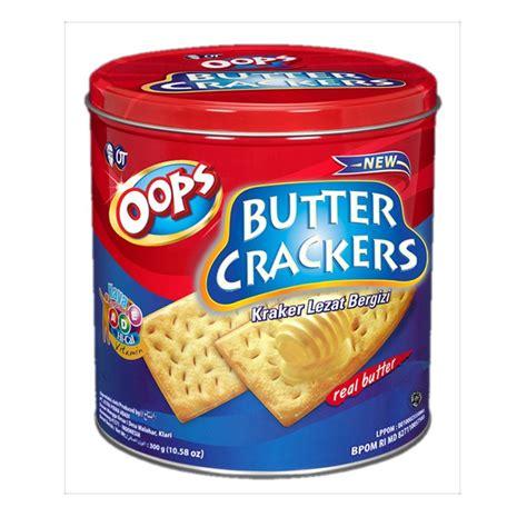 Biskuit Mentega Julie S Butter Crackers jual orang tua butter crackers biskuit 250 gr harga kualitas terjamin blibli