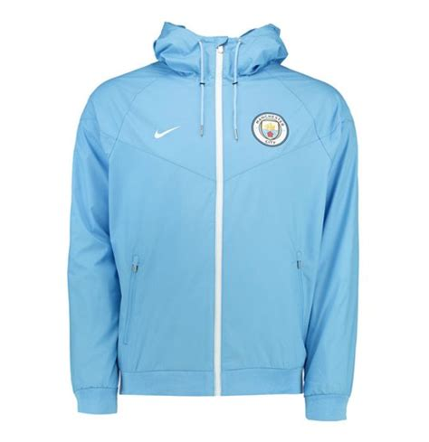 Vest Hoodie Manchester City Fc 03 2016 2017 city nike authentic windrunner jacket blue for only 163 69 87 at merchandisingplaza uk
