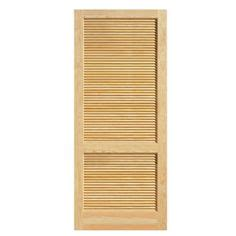 Interior Louvered Doors Home Depot by Steves Amp Sons Louver Panel Solid Core Pine Interior Slab