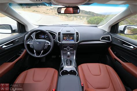 Ford Edge Interior by 2015 Ford Edge Interior Dashboard The About Cars