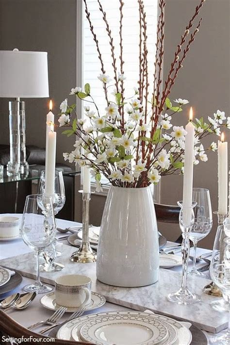 Dining Room Table Winter Centerpieces Setting The Table With Style Tablescape Decor Tips