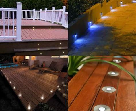 Patio Lighting Ideas Nz Deck Yard Garden Patio Stairs Landscape Outdoor White Led