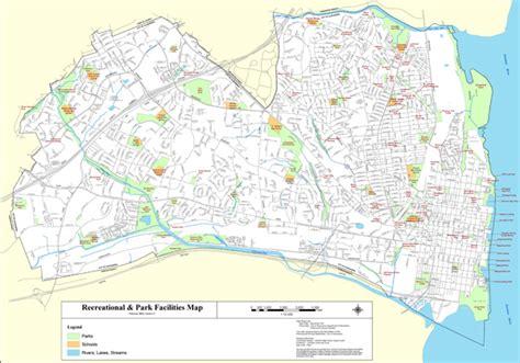 alexandria virginia map maps recreation city of alexandria va