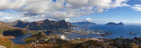 tjeldbergtinden panorama lofoten norway dave derbis