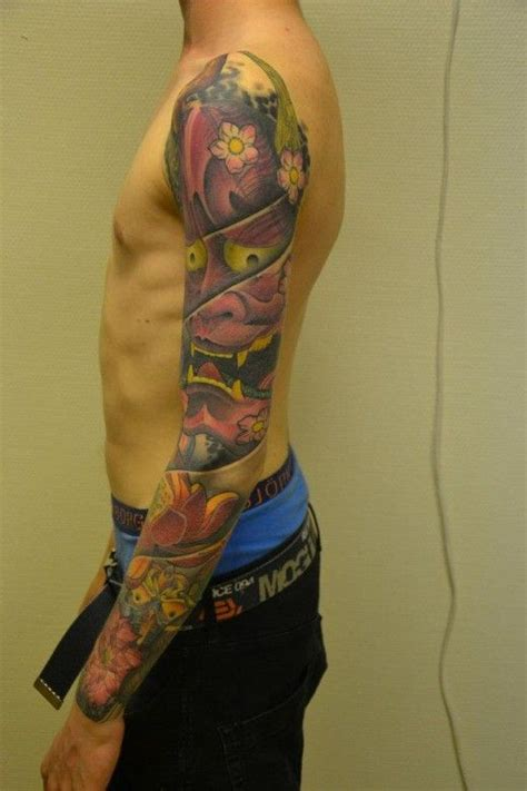 hannya arm tattoo 47 fantastic hannya sleeve tattoos