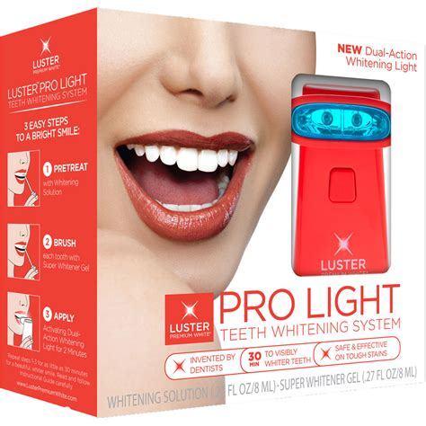 Luster Pro Light Teeth Whitening System Reviews by Luster Pro Light Teeth Whitening System Whitening Solution