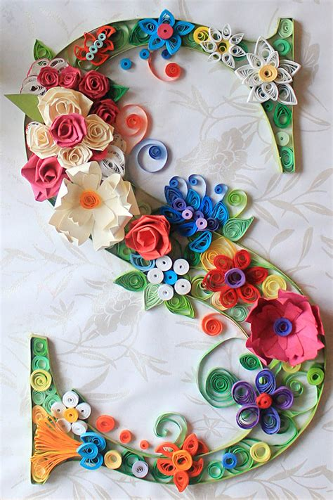 Designer Craft Paper - 27 finest paper quilling designs and artworks