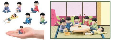 Osomatsu San Mini Figure osomatsu san merch fit for a family reunion from japan