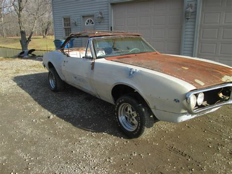 Pontiac Convertible For Sale by 1967 Pontiac Firebird Convertible Project Car For Sale