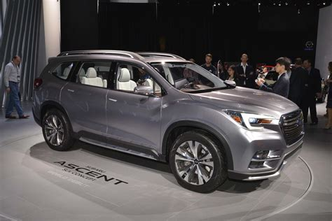 2019 Subaru Wrx Configurations by Production 2019 Subaru Ascent Will Go On Sale In 2018