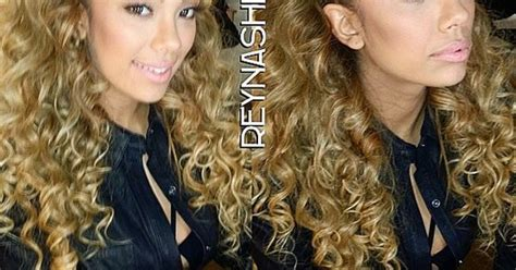 how to get erica mena curls erica mena braided front blonde curly hot fashion curly