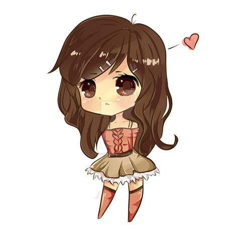 chibi girls a cute cute chibi by arisamanuko on