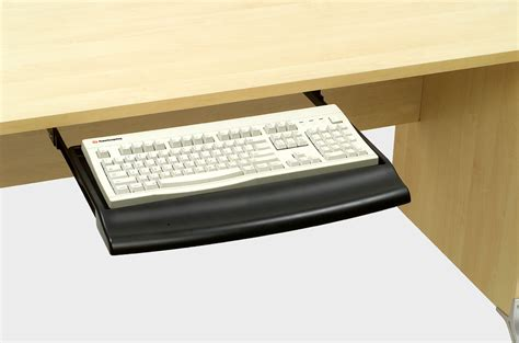 contoured keyboard tray custom accents
