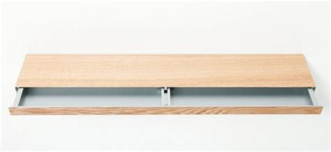 Minimalist Shelf by Minimalist Shelf With A Small Drawer Digsdigs