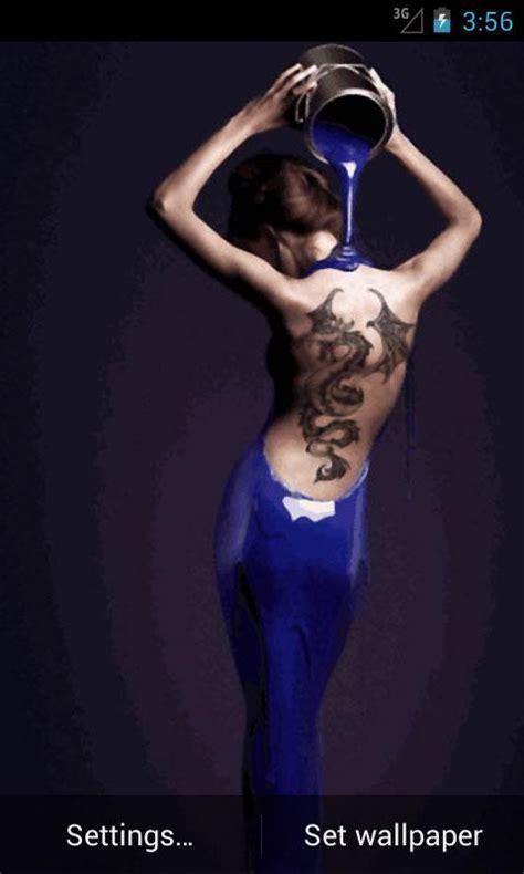 tattoo girl wallpaper android inked girls wallpapers wallpapersafari
