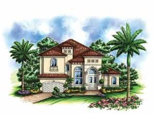 Small Mediterranean House Plans by Small Lot Mediterranean Home