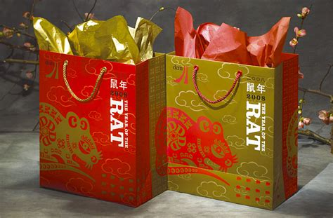 new year packaging gee chung design dcm lunar new year bag
