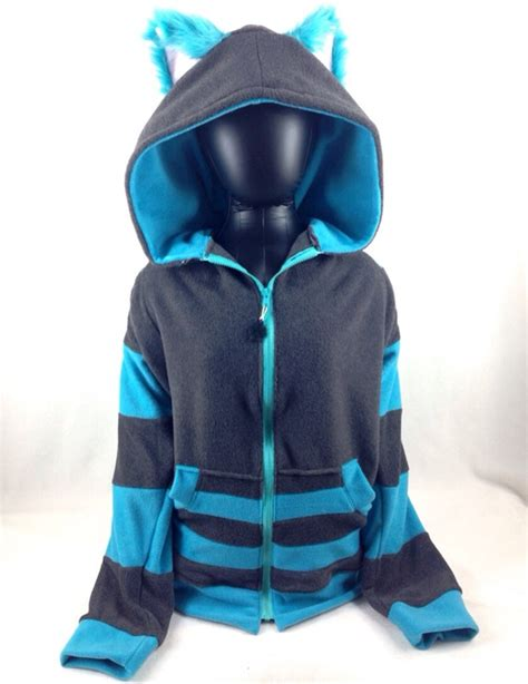Jaket Sweater Hoodie Zipper Dogs 2 Rightcollection this cheshire cat costume hoodie comes complete with