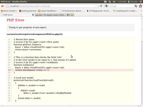 yii change layout main php php yii app gt user gt isadmin is not working properly