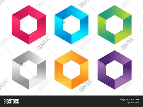 design is square abstract square logo vector template corner geometric