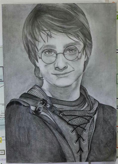 desenho harry potter desenho realista sihceci elo7