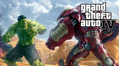 mod gta 5 hulkbuster duelo iron man hulkbuster vs hulk gta mods youtube