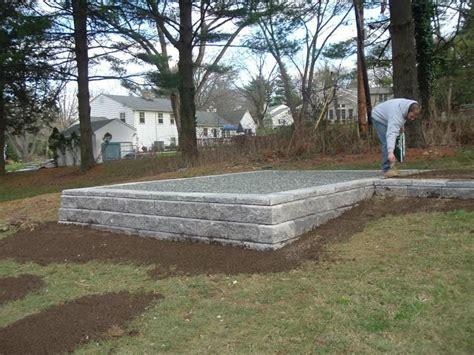 shed foundations ideas  sheds   garage shed