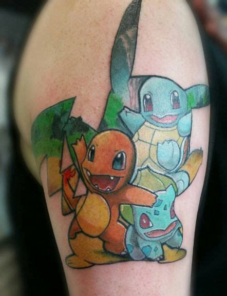 small starter tattoos 25 best ideas about on pokedex