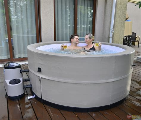 bathtub spa portable grand oasis energy efficient portable hot tub spa