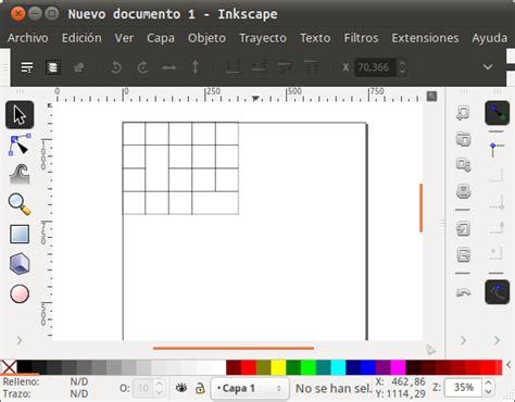 imagenes vectoriales para inkscape crear tablas en dibujos vectoriales con inkscape el atareao