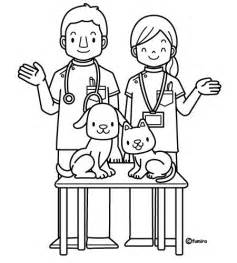 vet coloring pages getcoloringpages