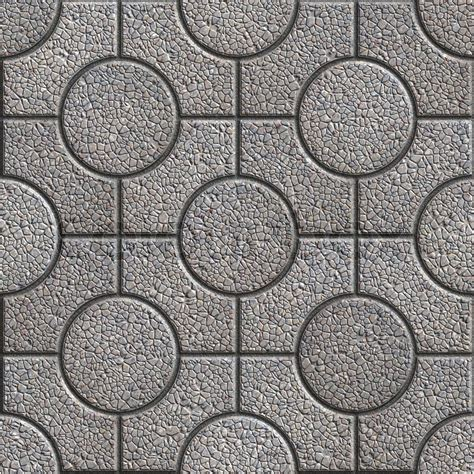 Grey paving slabs with curly seamless tileable texture stock photo colourbox