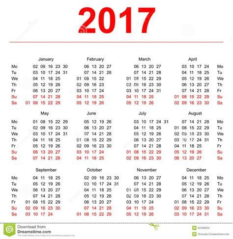 Calendario Por Semana Calendar For October 2017 2017 Printable Calendar