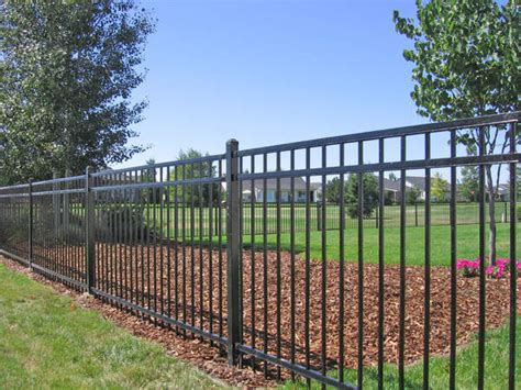 idaho wrought iron fences butte fence