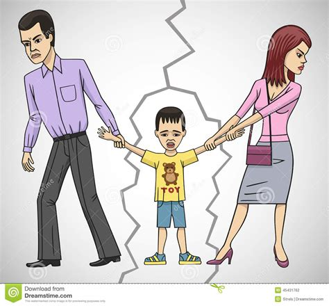 discord meaning divorce stock photo image of divide disagreement