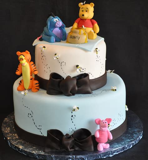 winnie the pooh cake baby shower winnie the pooh baby shower cake misc