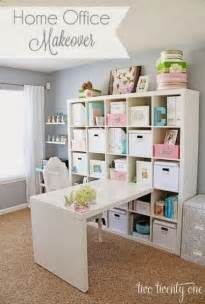 Cricuit Craft Room - 7 rooms that use ikea s expedit kallax shelving modernize
