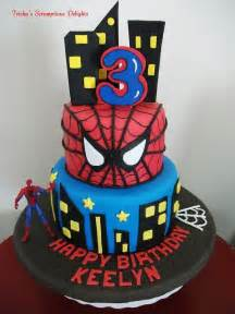 spiderman birthday cake cakes pinterest anniversaire g 226 teaux et fiestas