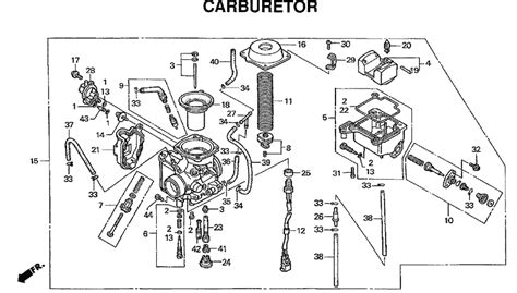 wiring diagram for a 2006 honda rancher 350 es wiring