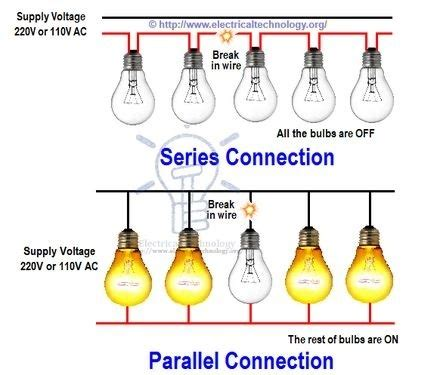 parallel christmas lights what is a parallel type of electricity flow in a house quora