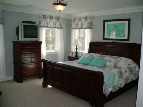 tiffany blue and grey bedroom bedroom with black and white toile and tiffany box blue