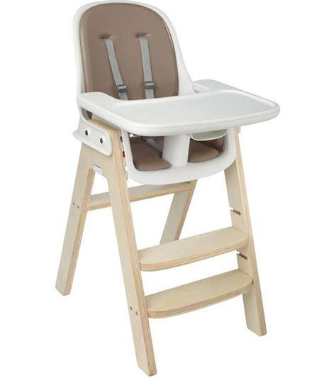 High Chairs by Oxo Tot Sprout High Chair Gray Gray