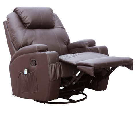 leather massage recliner foxhunter bonded leather sofa massage recliner chair