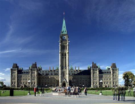 la sede parlamento il canada scopre il terrorismo termometro politico