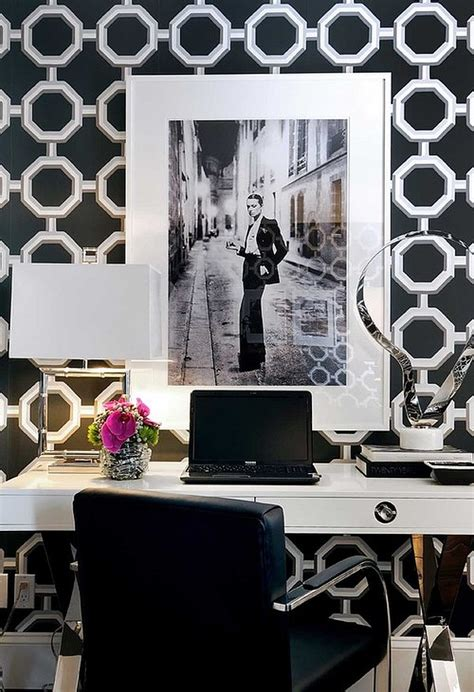 black and white home office decorating ideas home offices for women find fun art projects to do at