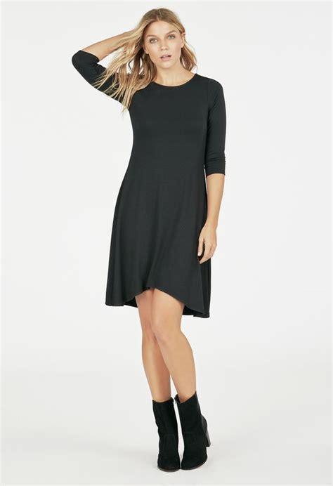 swing kleidung swing knit dress kleidung in schwarz g 252 nstig kaufen bei
