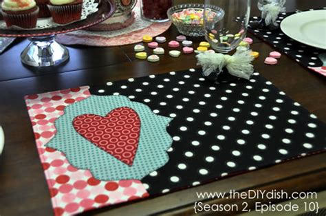 Craft Paper Placemats - craft and thermoweb