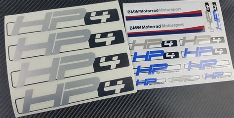 Bmw Motorrad Motorsport Decals by Bmw Motorrad Motorsport Stickers Satu Sticker