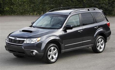 subaru forester touring xt car and driver